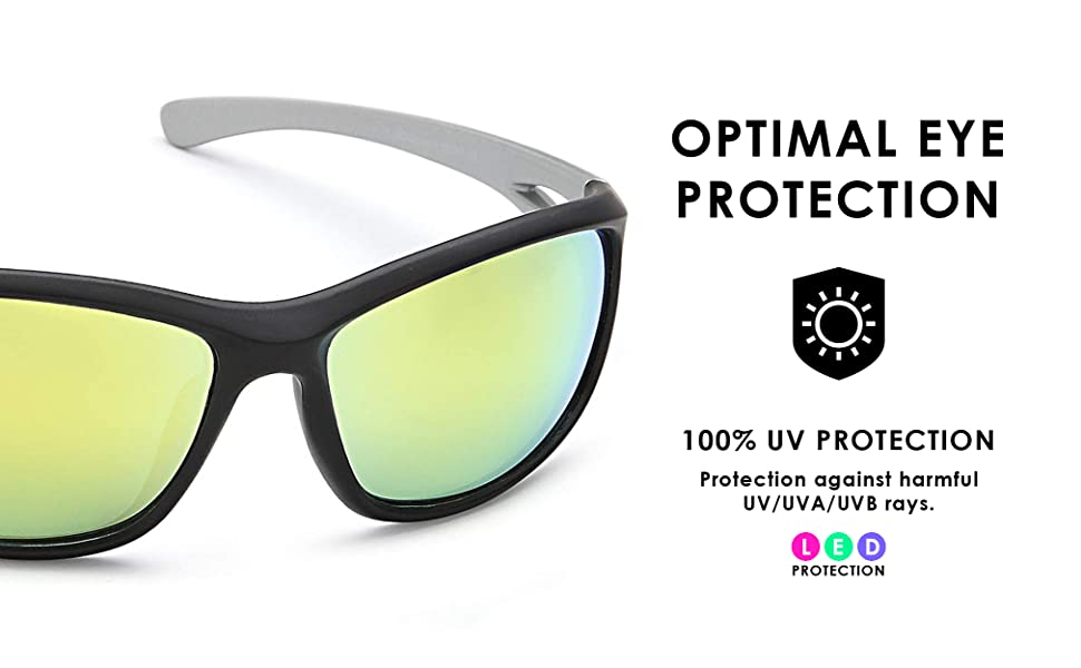 apollo grow light glasses are made for optimal protection from UV UVA and UVB rays