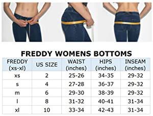 Freddy Wr Up Low Rise Denim Effect Skinny Jeans Women Butt Lifting Signature Shaping Pants Sexy Push Up Pants