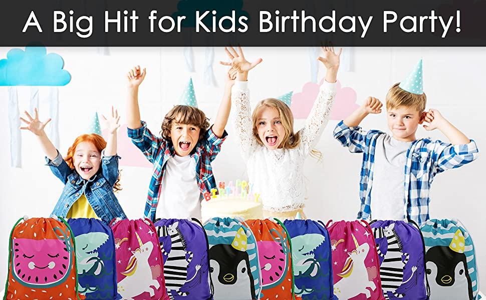 BeeGreen Party Favors Bags for Kids
