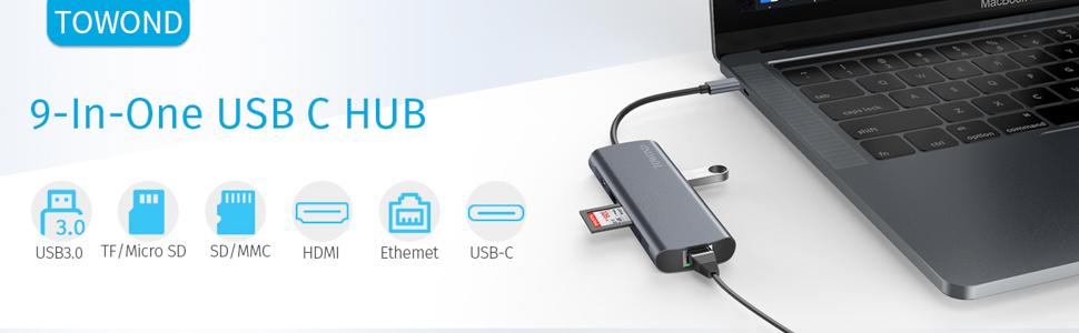 macbook pro usb c hub
