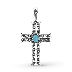 sterling silver gemstone snap enhancer pendant necklace nature cross spirit native celestial rope
