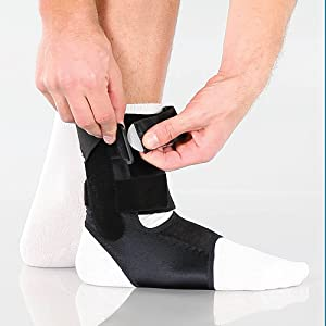 BioSkin Trilok Ankle Brace - Foot and Ankle Support for Ankle Sprains,  Plantar Fasciitis, PTTD, Tendonitis