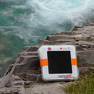 Solar Charging Lantern LuminAID PackLite Camping Light