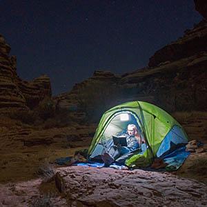 LuminAID tent light portable camping lantern solar
