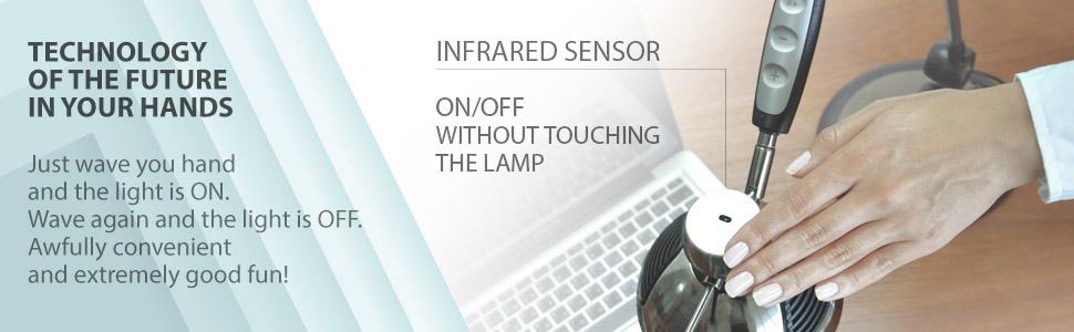 motion sensing light infrared sensor