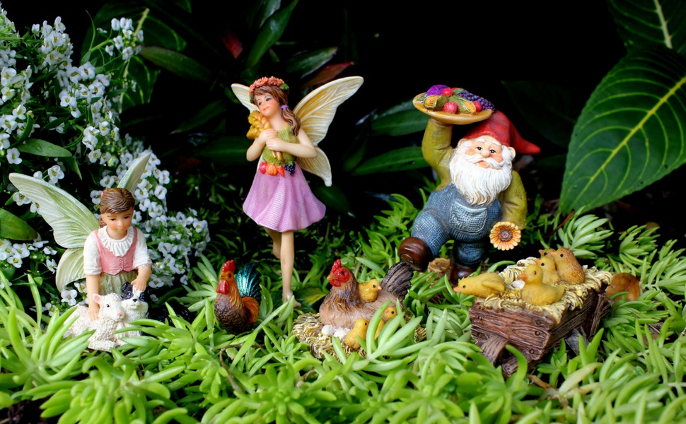 Amazon.com: PRETMANNS Fairy Garden Fairies Accessories