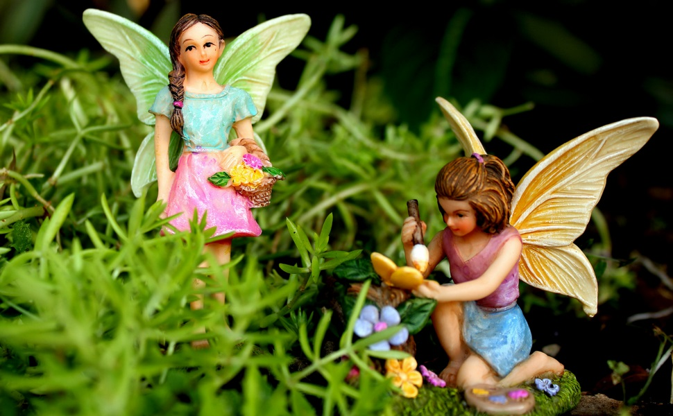 Miniature Fairy Garden Fairies