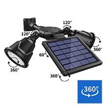 solar motion light outdoor waterproof