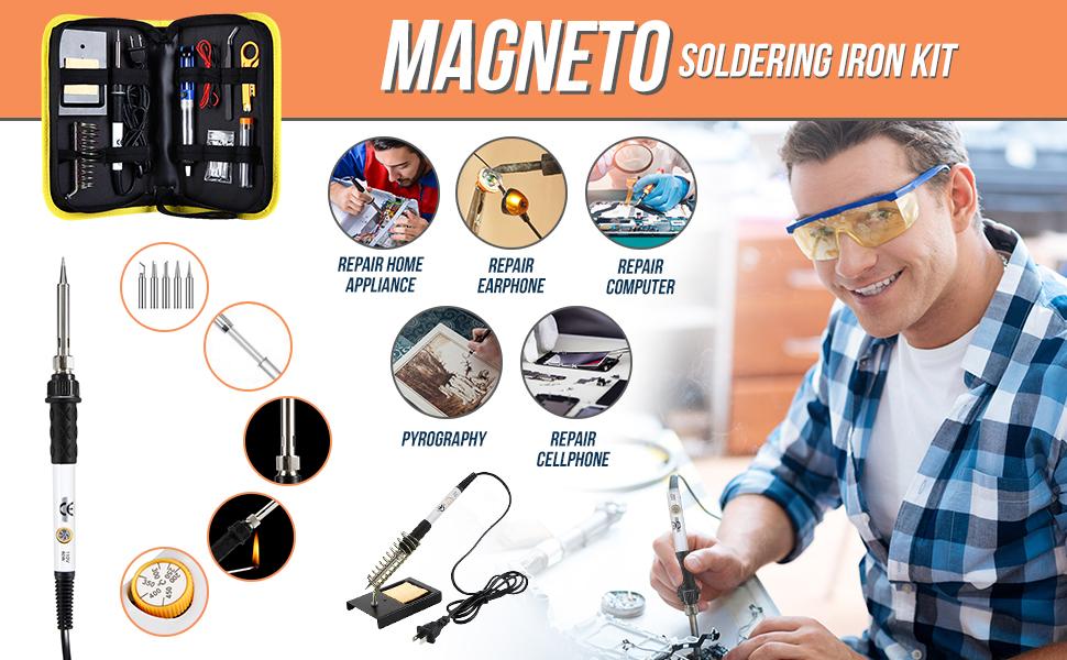 Magneto Soldering Iron