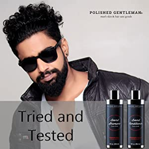 tried and tested beard shampoo and conditioner
