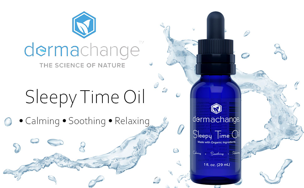 dermachange sleepy time oil