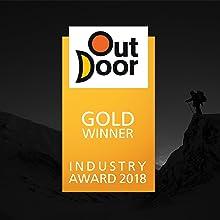 Resultado de imagen de Outdoor Industry GOLD Award 2018