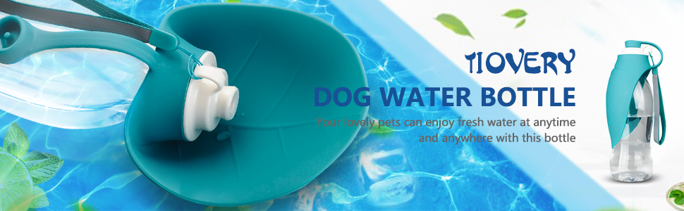 TIOVERY Dog Water Bottle
