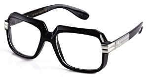 Newbee Fashion - 80's Old School Rapper Hip Hop DJ Glasses Hip Hop Sunglasses