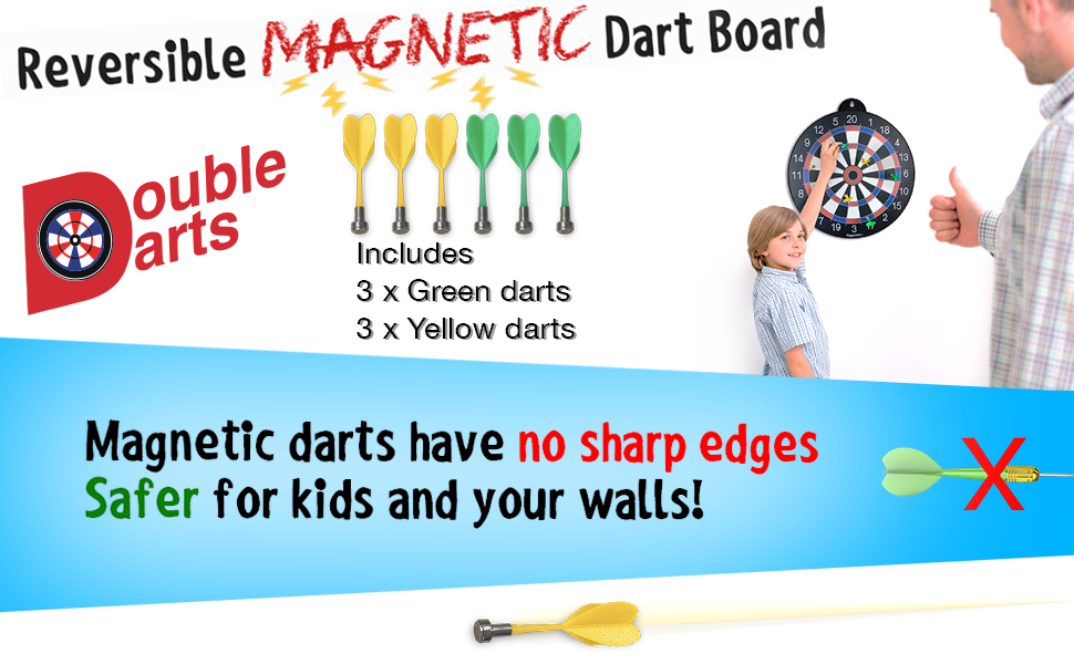 dartboard dartboards darts families family fun game games gift gifts indoor kid kids kids' magnet