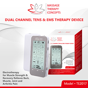 Dual Channel Tens & EMS Therapy Device