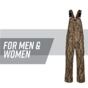 0267cf9889df3 Camo overalls left against a white backdrop with grey stripe behind; text  reads: for