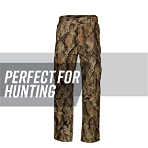61ec6dc989ce8 Add these camo cargo pants to your hunting gear. They're ideal for outdoor  sports like hunting or fishing because of the dual-button cargo pockets and  extra ...