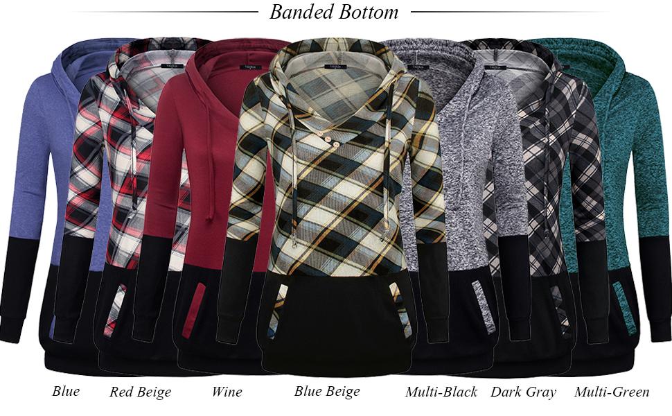 hoodies for women 7 colors long sleeve tunic tops active sweatshirts jacket