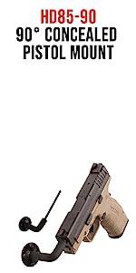 pistol hanger