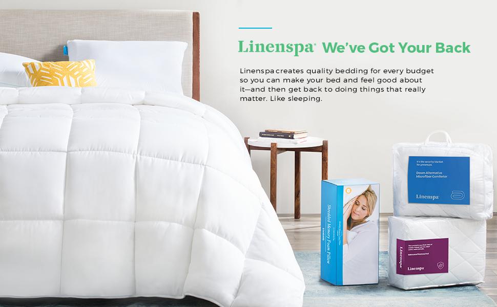 Linenspa We Got Your Back