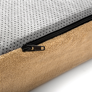 Zippered Cover Orthopedic Pet Bed
