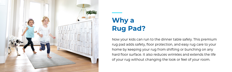 Why a rug pad
