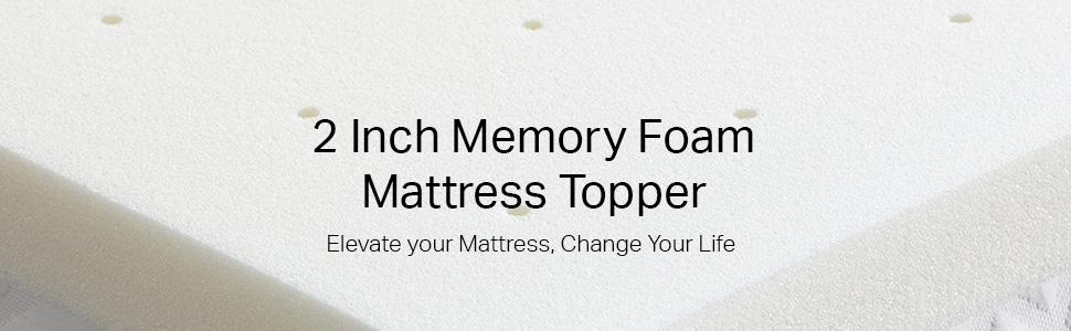 Materassi Fresh Memory Gel.Amazon Com Weekender 2 Inch Memory Foam Mattress Topper Full