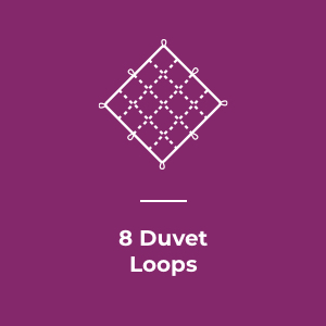 8 Duvet Loops