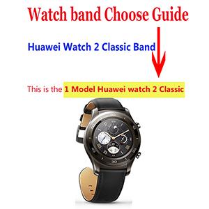 Amazon.com: Huawei Watch 2 Classic - Correa de repuesto para ...