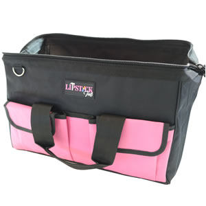 wide mouth bag convenient big efficient pink durable wellmade
