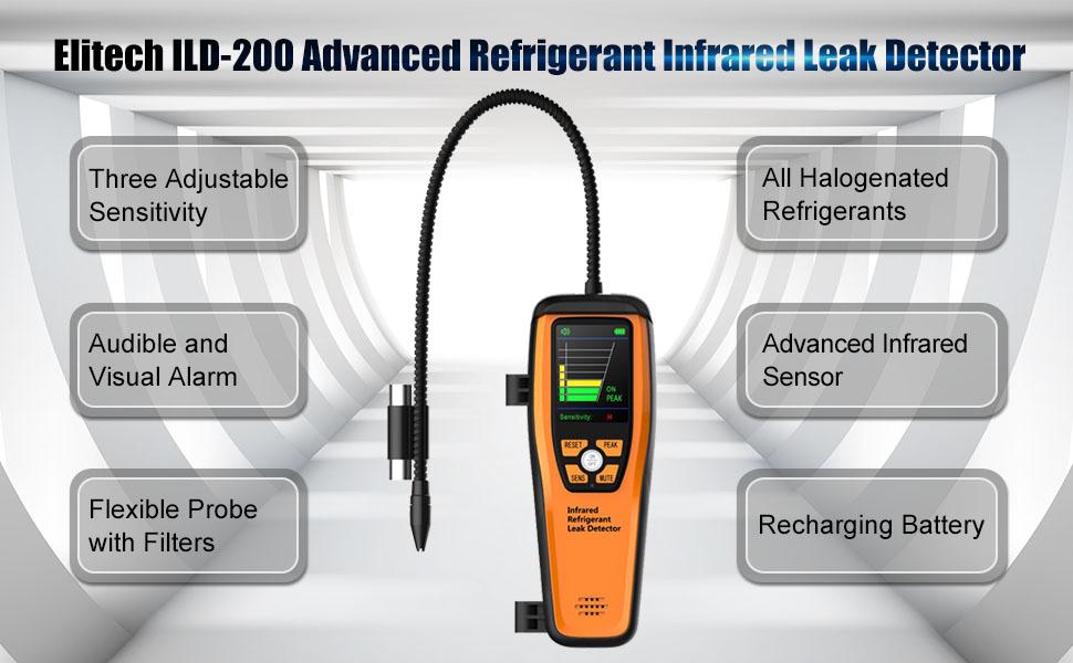 infrared refrigerany leak detector