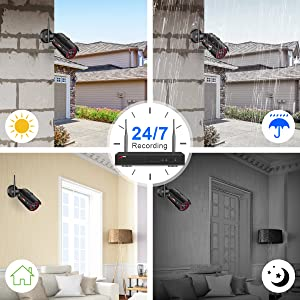 wifi video security camera system