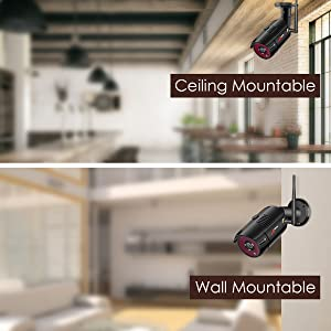 security camera system wireless