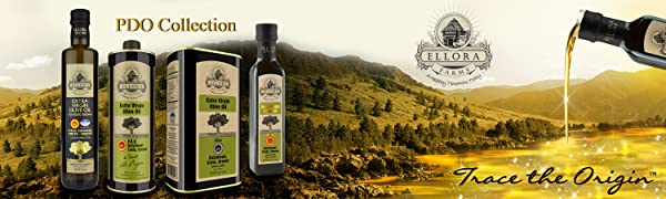 Ellora Farms, PDO Collection, Greek Olive Oil, Extra Virgin Olive Oil