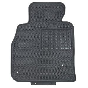 All Weather Custom Rubber Winter Slush Floor Mats for 2014-2018 Mazda 3