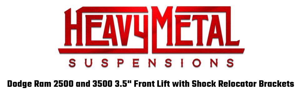 """dodge ram 2500 3500 leveling kit lift kit spring spacers strut front 2"""" 3"""" 3.5"""""""