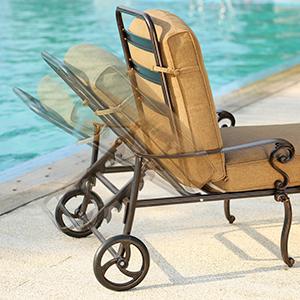 Amazon.com: Domi Outdoor Living chaise lounge silla con ...