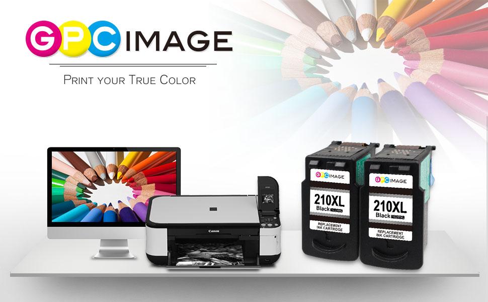 PRODUCT INFORMATION GPC Image 2 Black Remanufactured Pg 210xl Ink Cartridge
