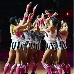 08a44afbc Amazon.com : Getspor Unisex Sports Baseball Socks, Teens Over The ...