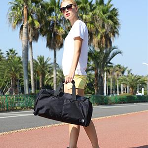 gym bag with handles