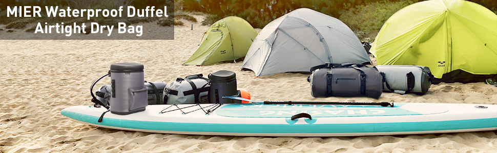 40L Waterproof Dry Tube Duffle Drybag for Sailing Camping Kayaking Watersports