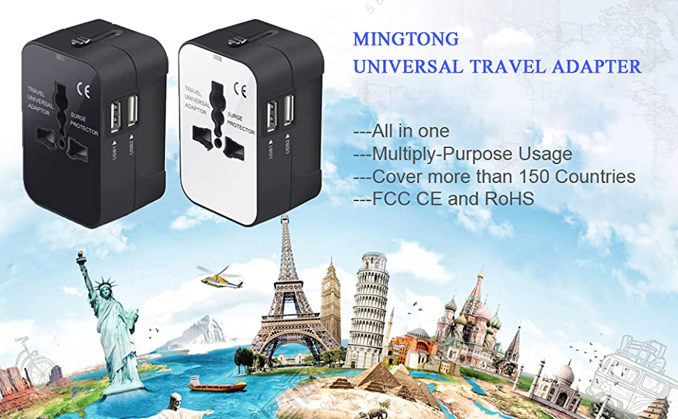 international travel adapter power adapter