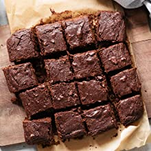 extra white gold gluten free brownies