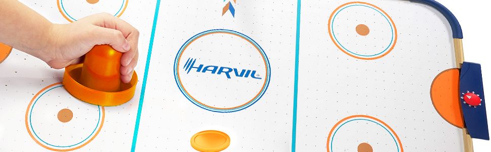 Harvil 4 Foot Air Hockey Table for Kids and Adults with Complete Accessories
