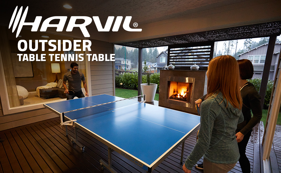 Amazon Com Harvil Outsider Table Tennis Table Sports