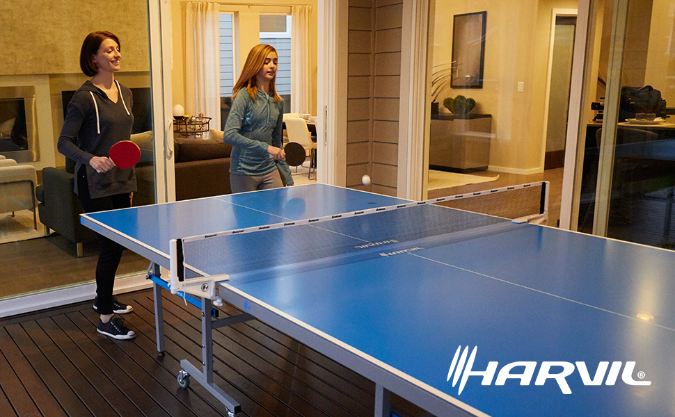 Amazon Com Harvil Outsider Table Tennis Table Sports
