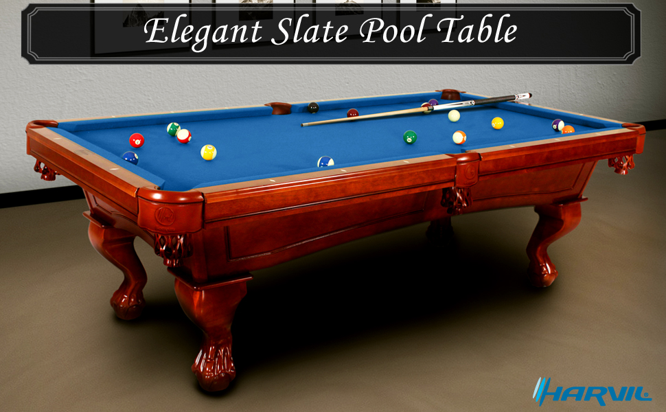 It Comes With A Complete Set Of Pool Table Accessories. This Pool Table Can  Stand Any Level Of Play And Meant To Last For Generations.