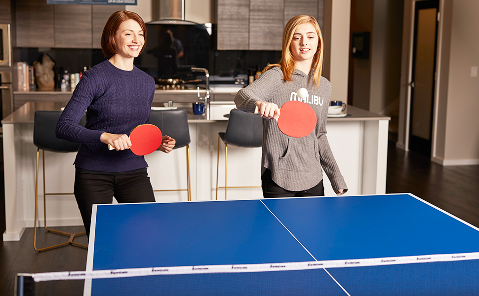 Ping-pong is a classic game that will bring joy and exciting game nights to any family