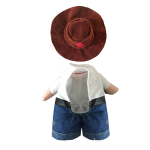 Mikayoo Pet Dog Cat Halloween Costumes,The Cowboy for Party Christmas Special Events Costume,West Cowboy Uniform with Hat,Funny Pet Cowboy Outfit Clothing for Dog cat 43